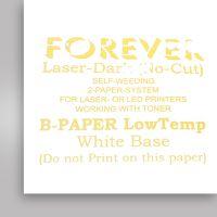 Бумага термотрансферная Forever Laser-Dark (No-Cut) LowTemp CMYK, А3 (В- Paper)