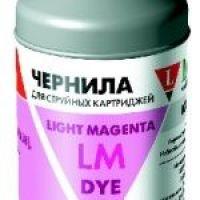 Чернила для Epson LE08-001LM светло-пурпурный, 100 мл.