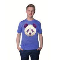 Футболка мужская, фиолетовая, хлопок 100%, 145 гр., 46, M