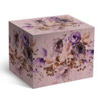 Коробка под кофейную кружку полевые цветы