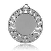 Медаль HB103 серебро D50мм, D вкладыша 30мм