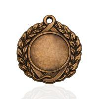 Медаль корпусная MK142c бронза D медали 43мм, D вкладыша 25мм