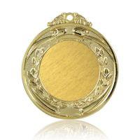 Медаль Zj-M812 золото D65мм, D вкладыша 40мм