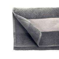 Полотенце махровое 30*70 см, 400 г/м2, хлопок, с 1 полем под сублимацию, серый