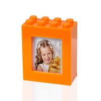 Рамка пазл оранжевый водяной 63х79х31мм